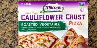 miltons cauliflower pizza costco