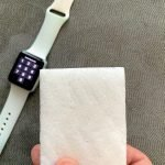 how to clean apple watch silicone band