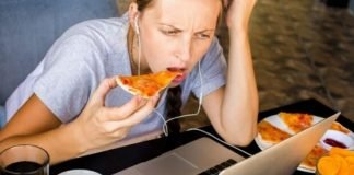 how not to gain weight at home